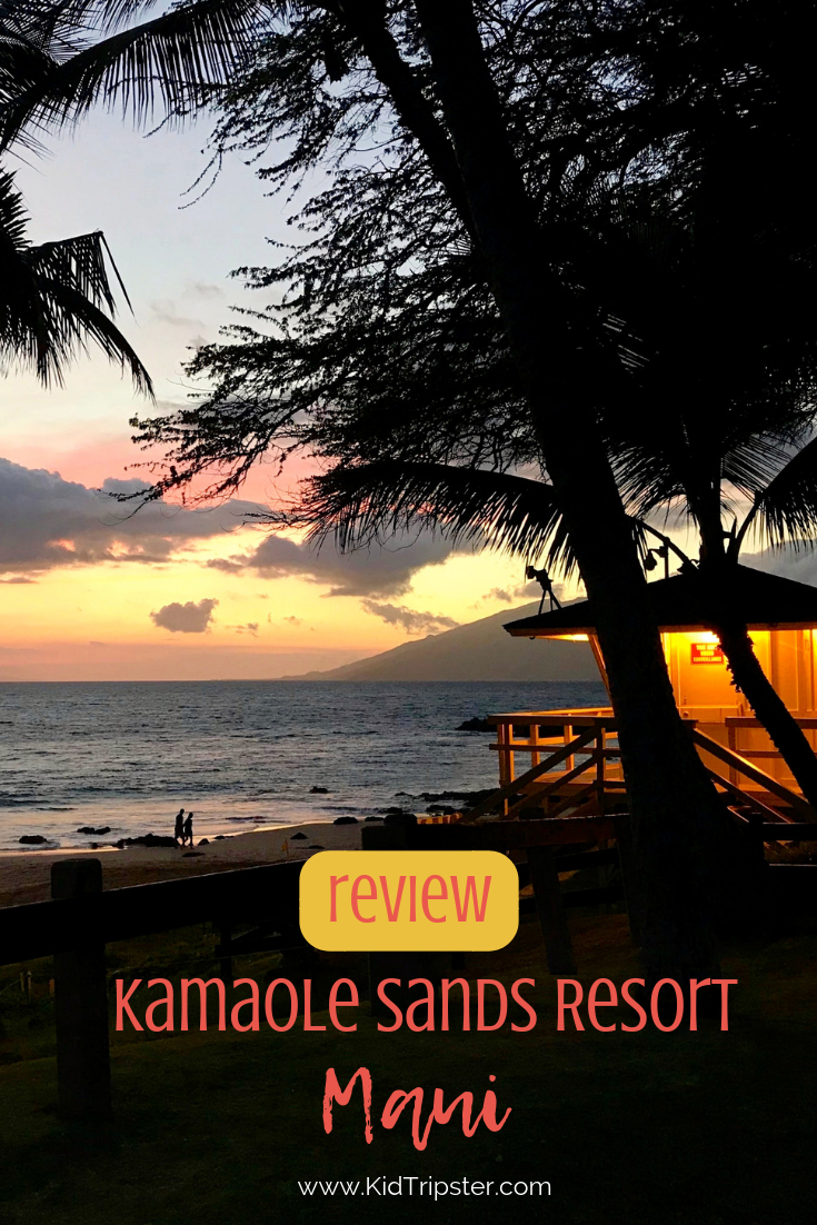 Family vacation at Kamaole Sands Resort on Maui