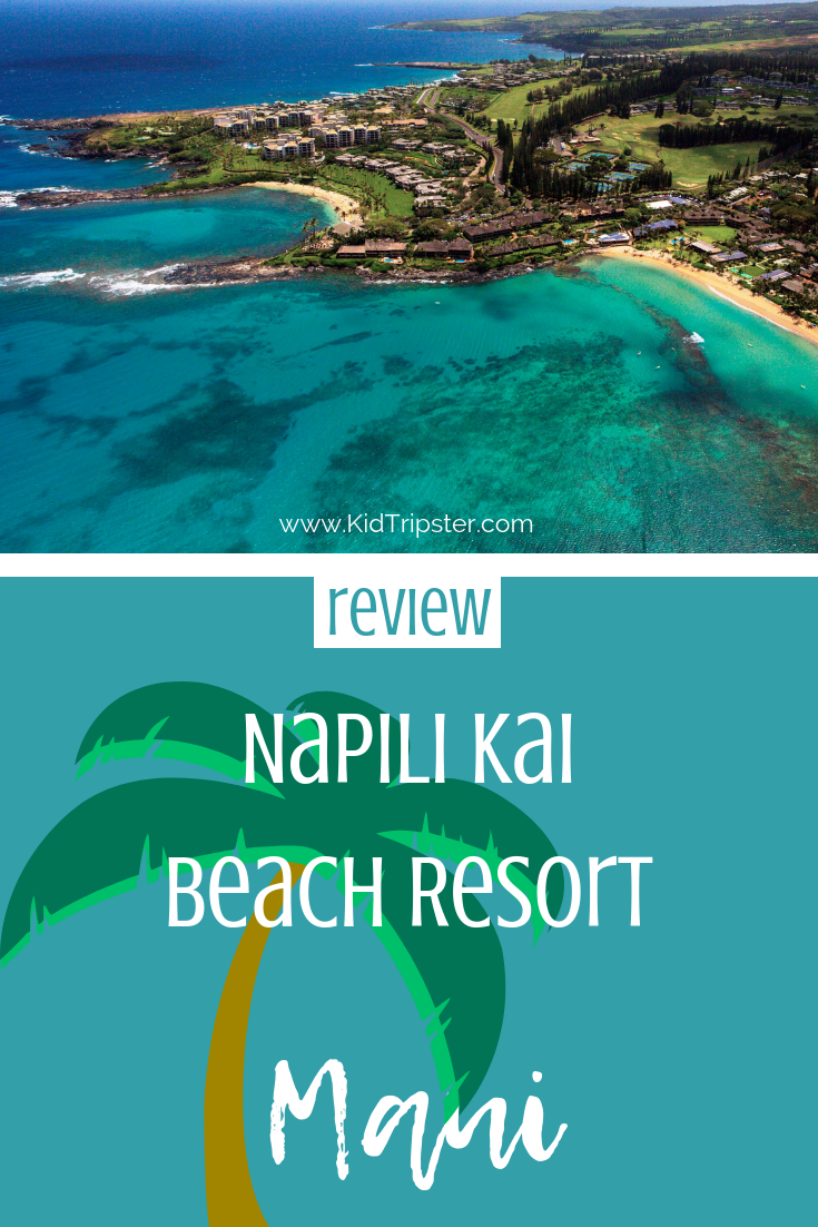 Family vacation at Napili Kai Beach Resort on Maui