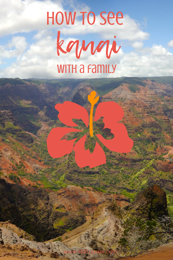 Family vacation on Kauai