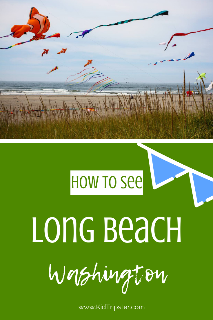 Family vacation to Long Beach, Washington