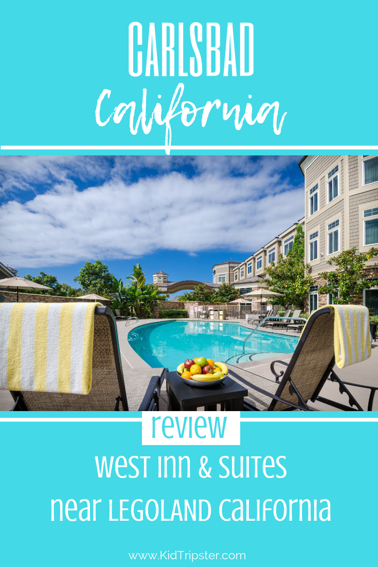 Family vacation at West Inn & Suites, Carlsbad, California