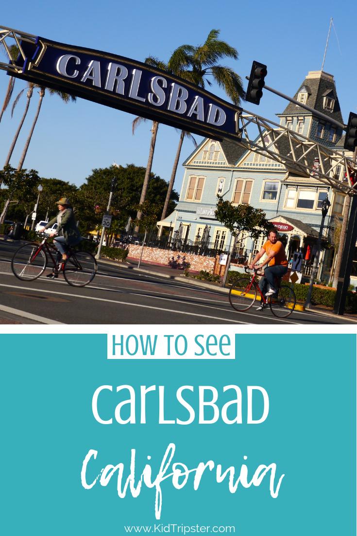 Family vacation to Carlsbad, California