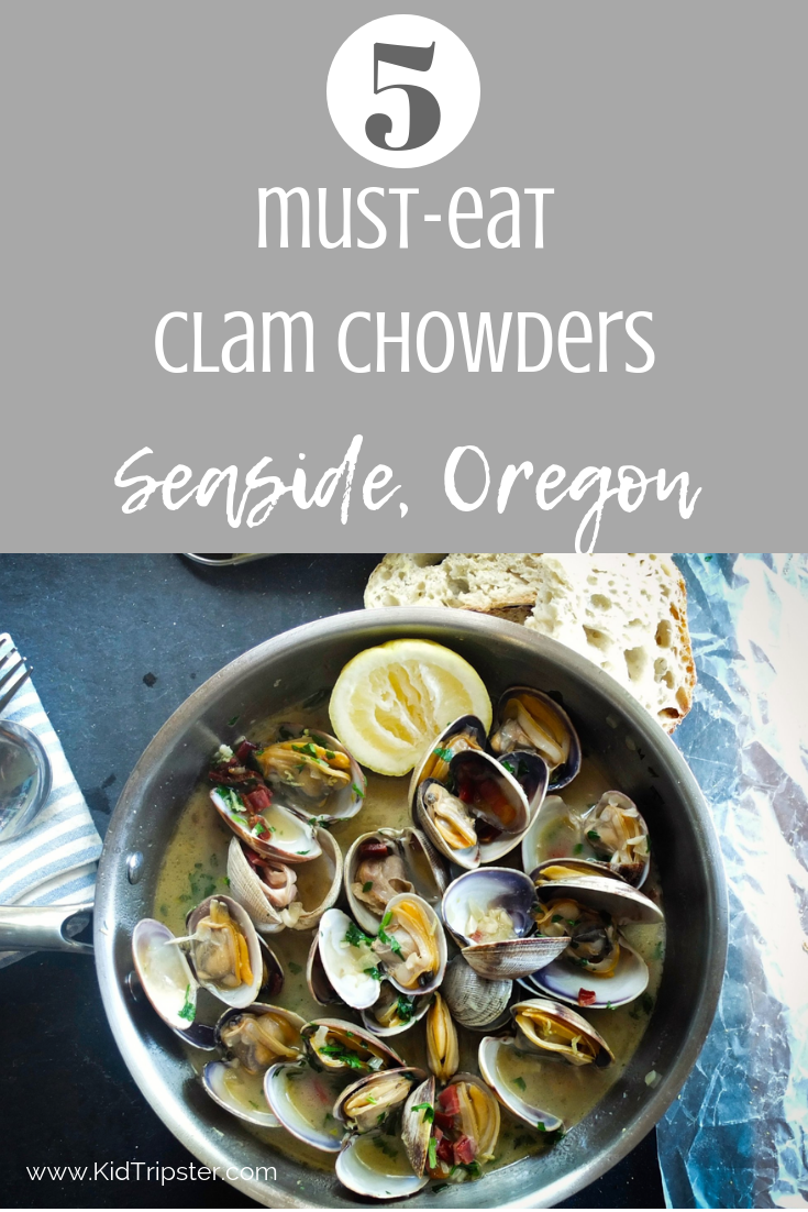 Must-eat Clam Chowders in Seaside, Oregon
