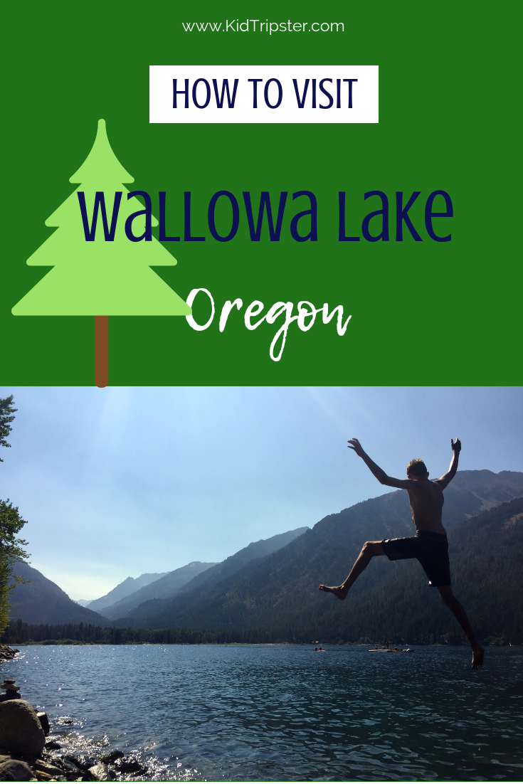 Family vacation to Wallowa Lake, Oregon