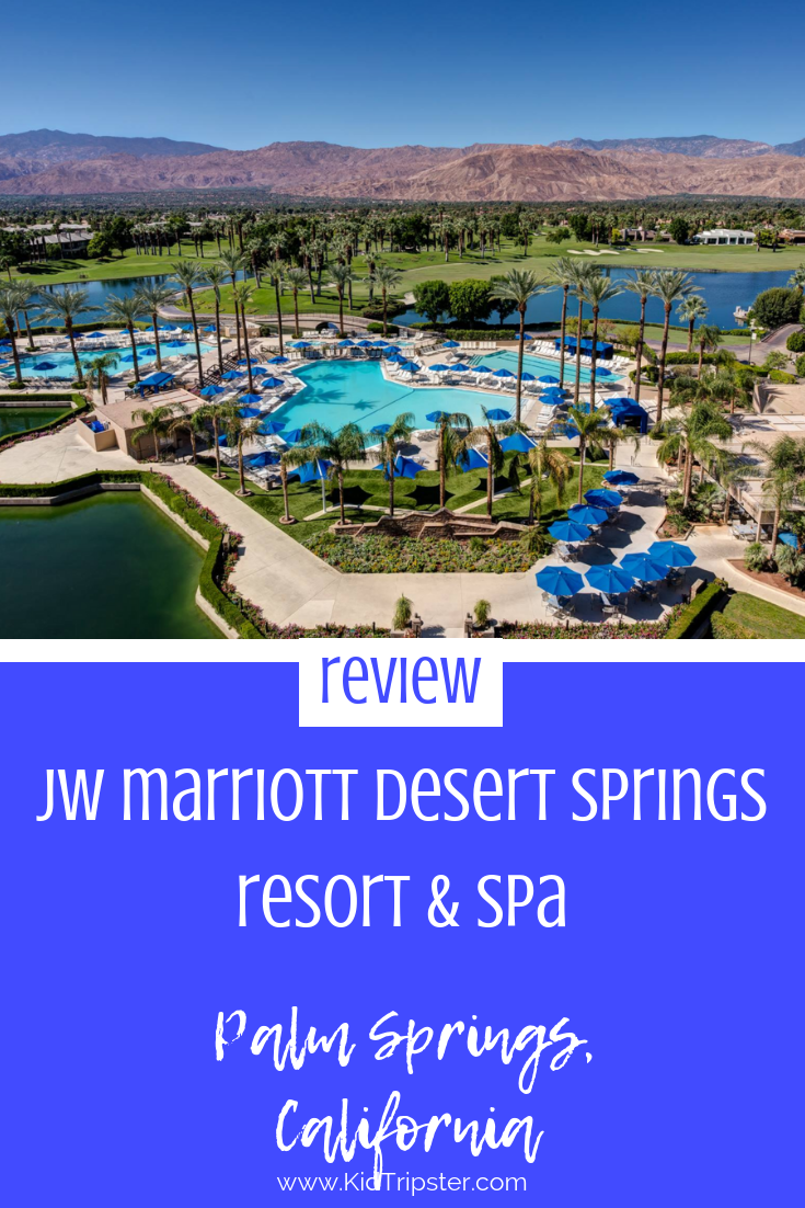 Family vacation at JW Marriott Desert Springs, California
