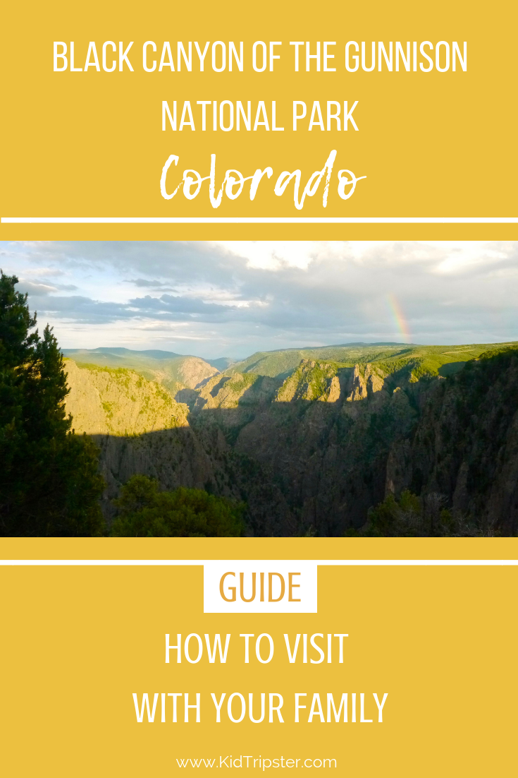 Family vacation to Black Canyon of the Gunnison National Park, Colorado
