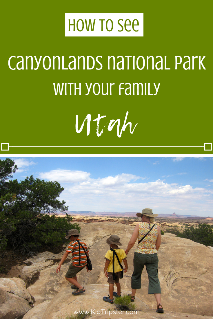 Family vacation to Canyonlands National Park, Utah