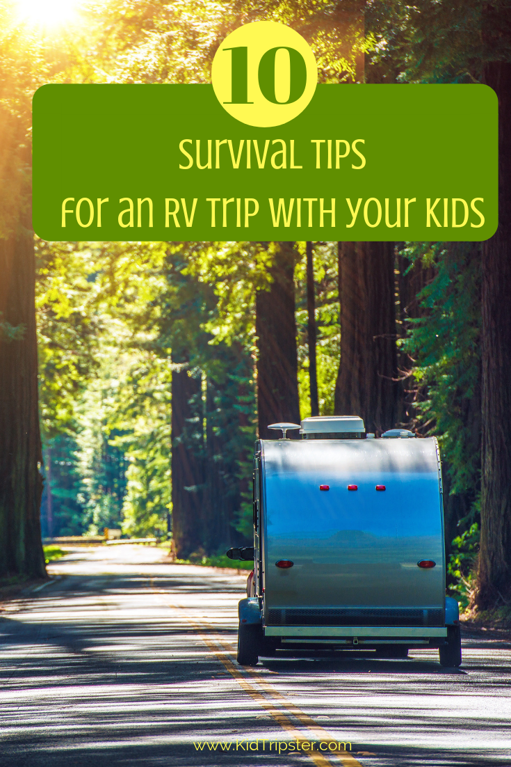 Tips for surviving an RV trip with your kids