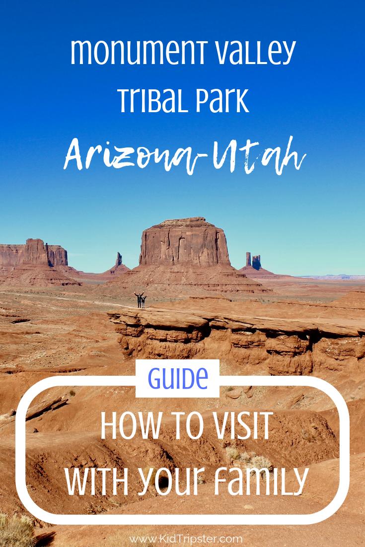 family vacation to monument valley, arizona-utah