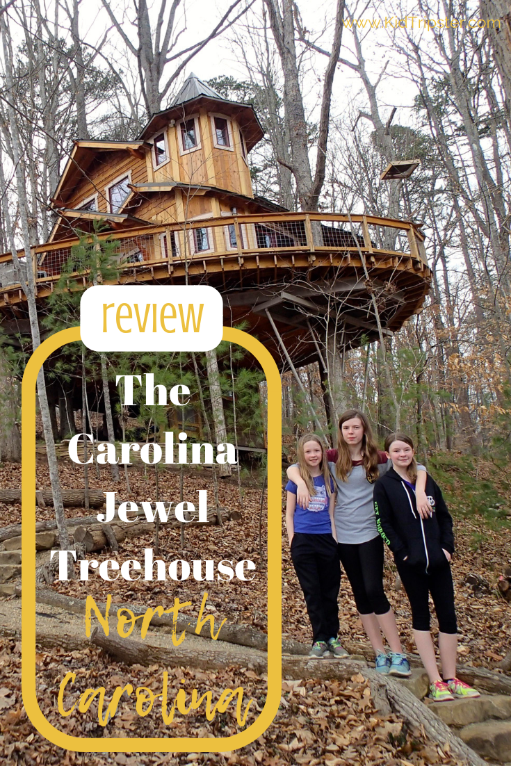 The Carolina Jewel Treehouse North Carolina