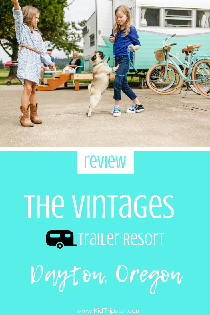 The Vintages Trailer Resort Dayton Oregon