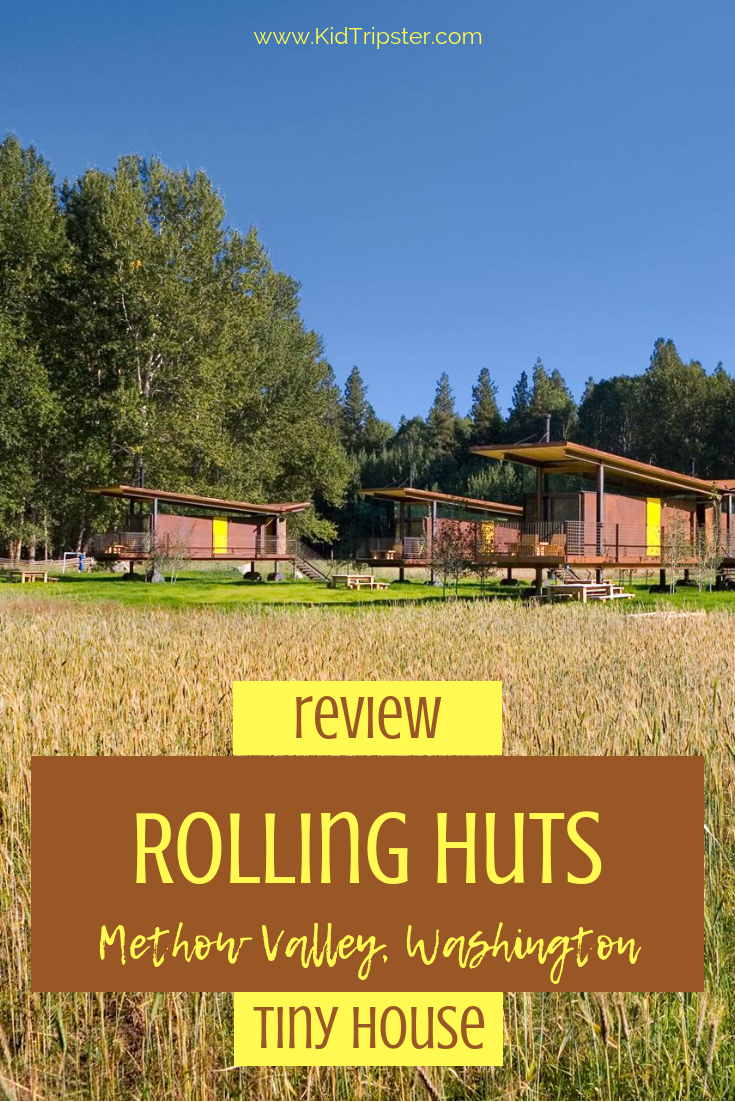 Rolling Huts Methow Valley Washington