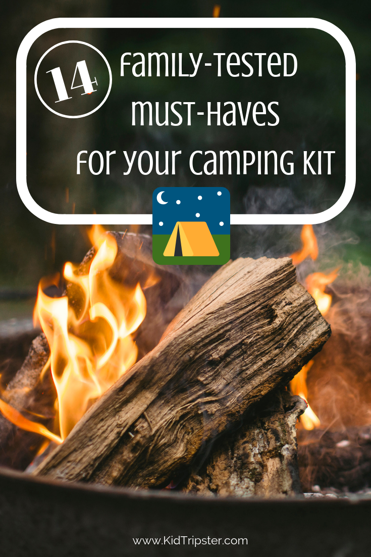 Must-have camping gear