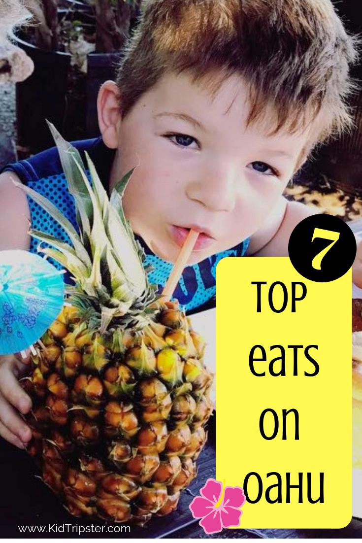 Top 7 Eats on Oahu, Hawaii