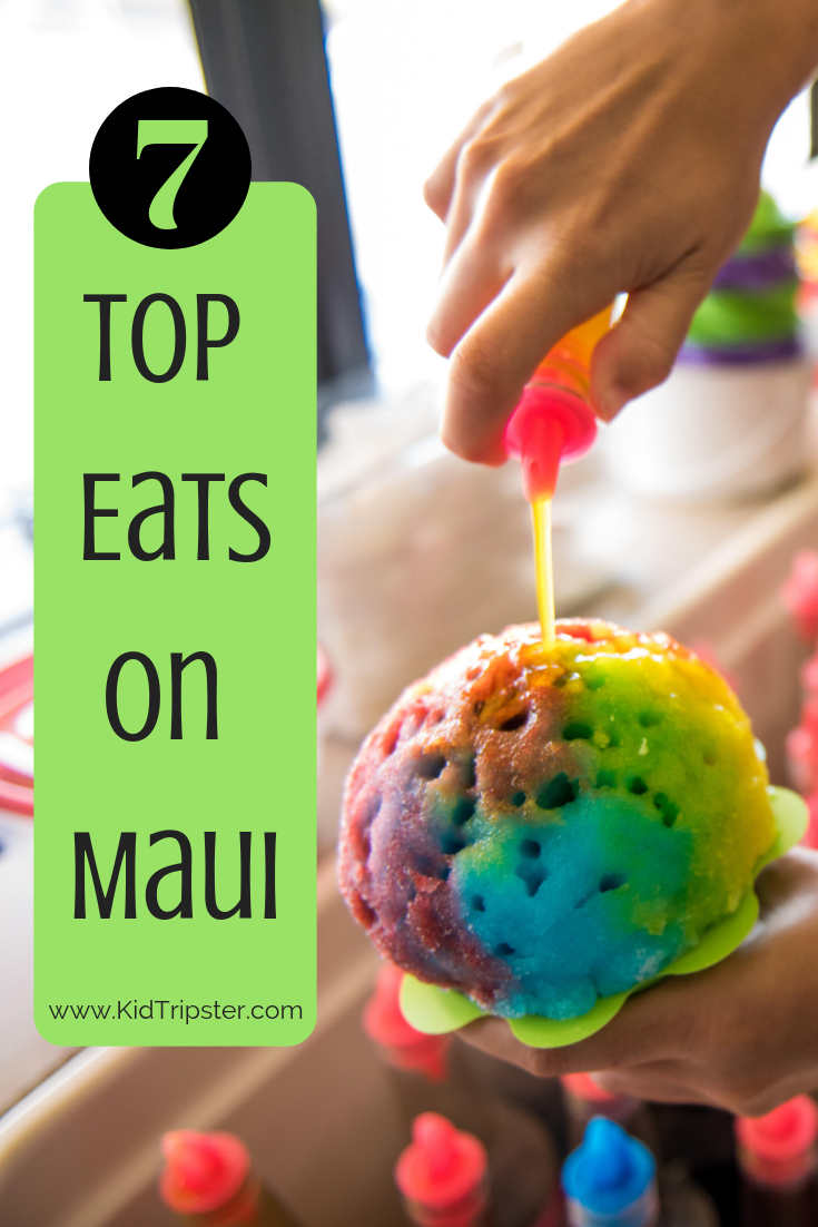 Top 7 Eats on Maui