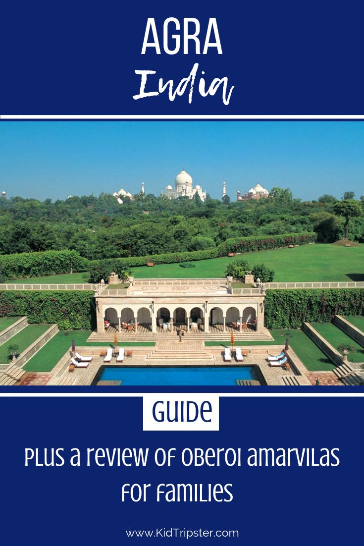 Family vacation to Taj Mahal, Agra, India