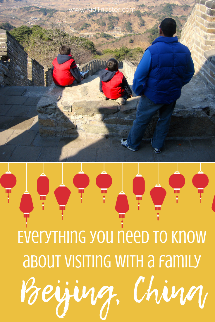 Family vacation to Beijing, China & Great Wall of China