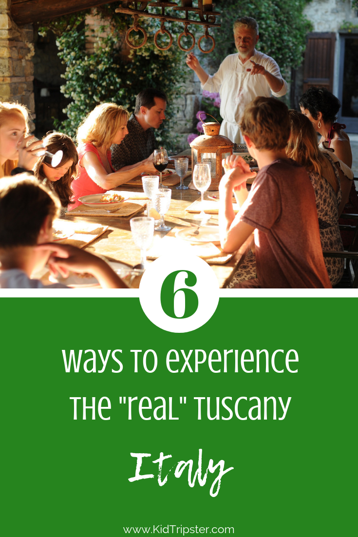 Family vacation to Tuscany, Italy