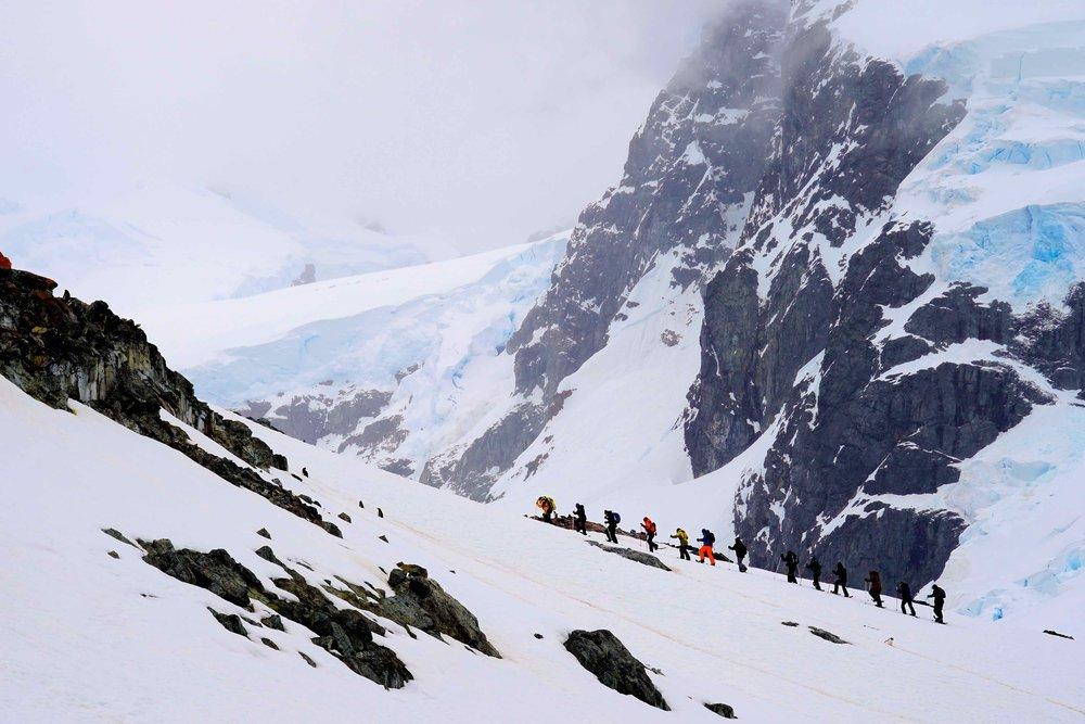 7/Snowshoeing in Antarctica