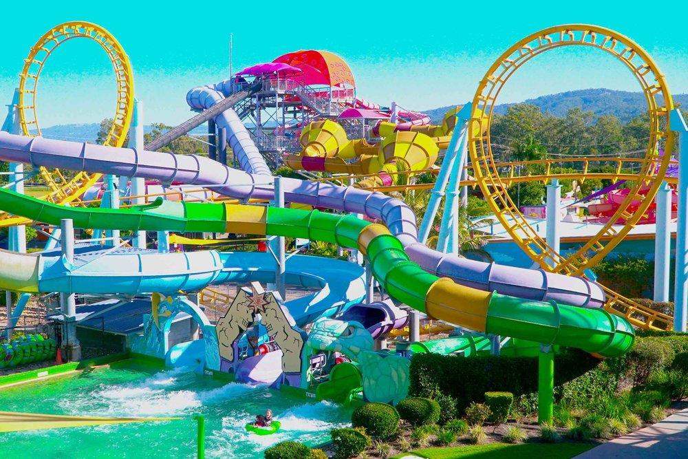 7/Amusement & water parks