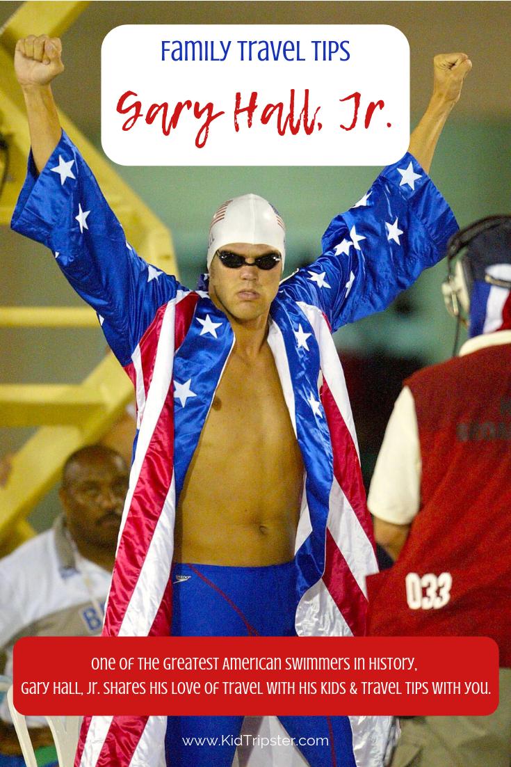 Gary Hall Jr., Olympic swimmer