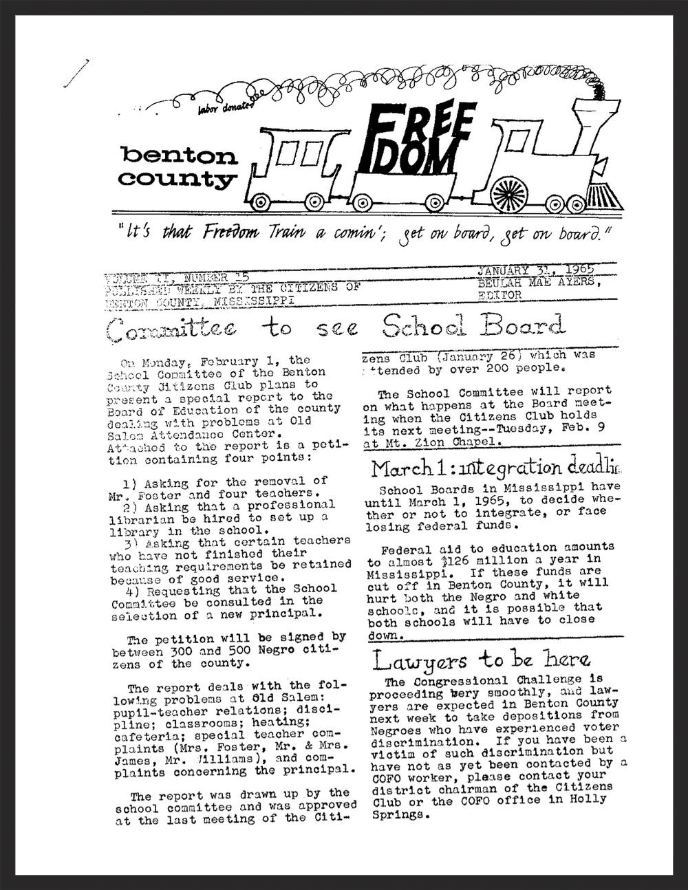 January 31, 1965