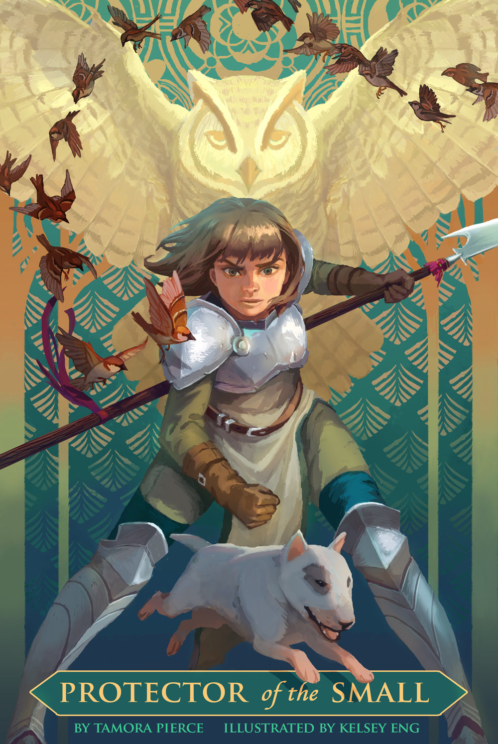 Book Cover Art Zip ~ Kelsey eng illustration