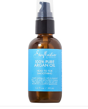 ARGAN OIL: a non-clogging oil full of vitamin e and fatty acid content that will give skin a natural boost.