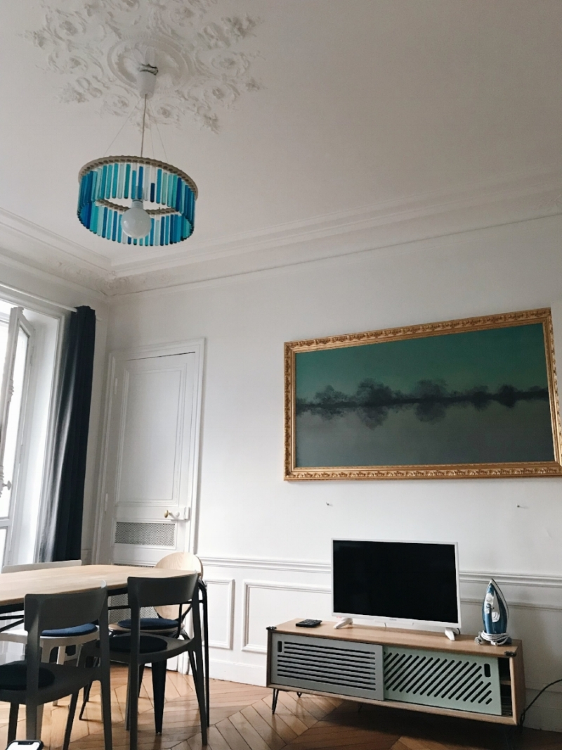 My Airbnb in Batignolles. It was a dream -    here's a link to it if you want to stay there!