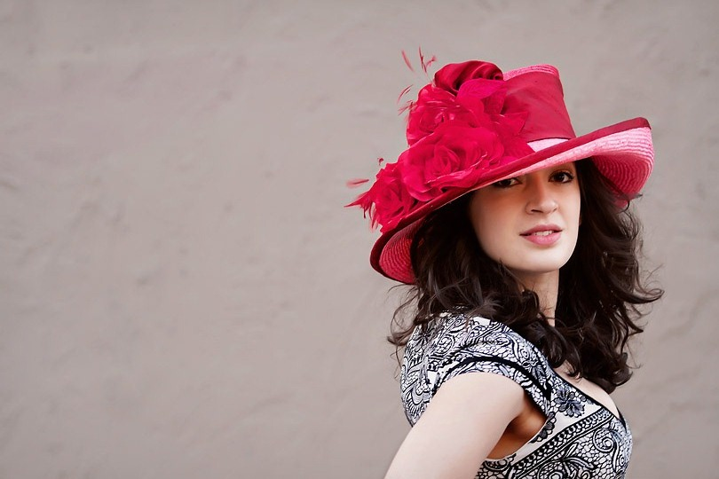 This hat was displayed in the Kentucky Derby Museum  and won the Judges Choice Award, 2010.
