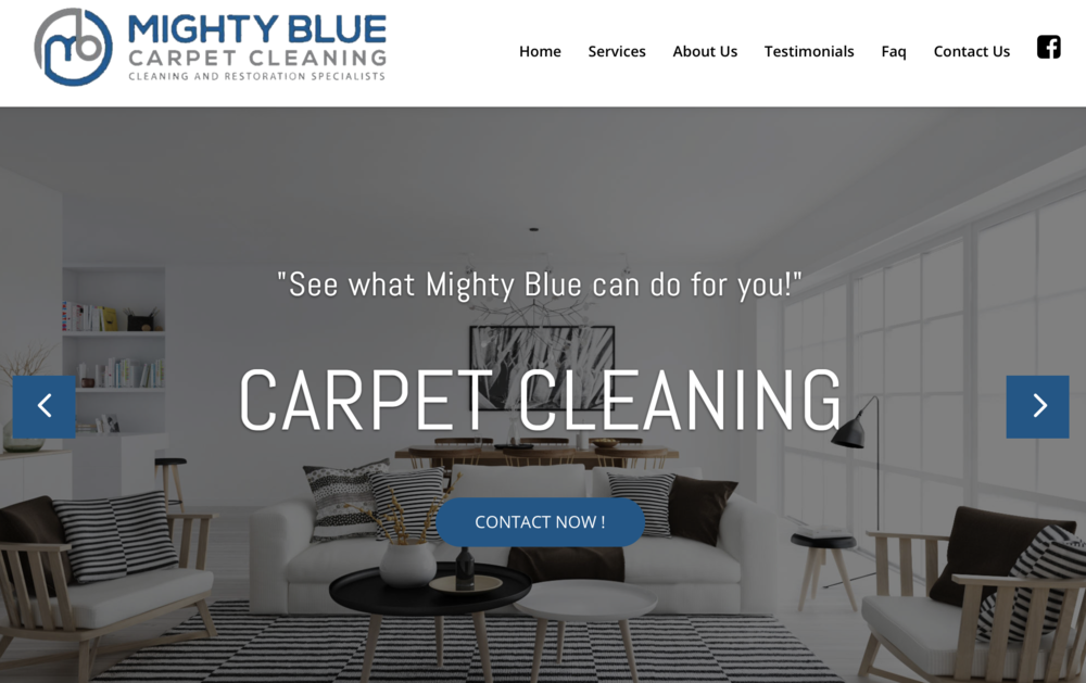 Mighty Blue Carpet Cleaning