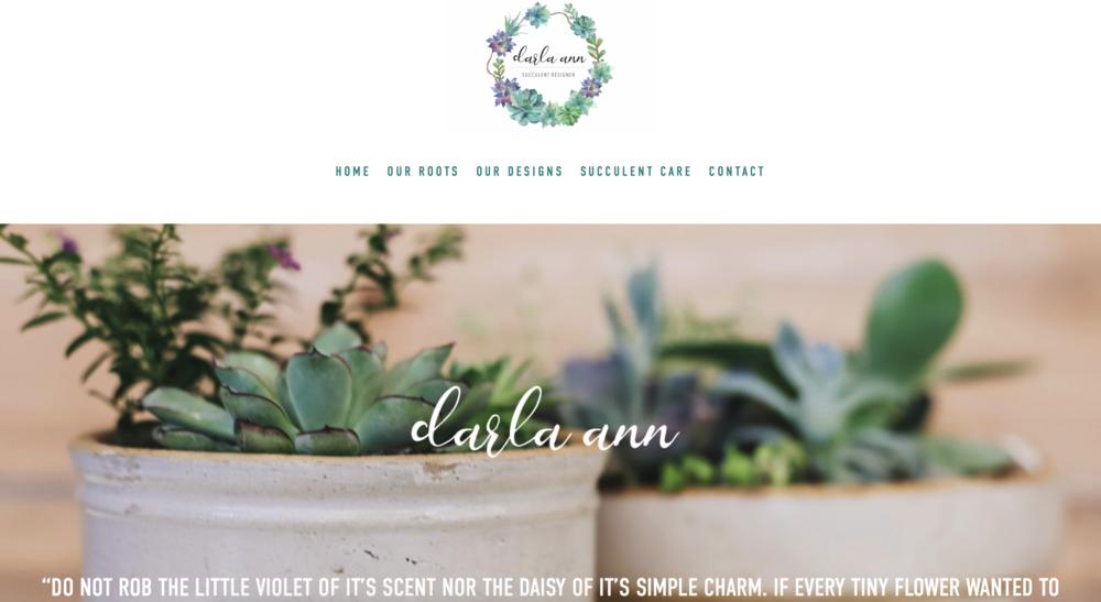 Darla Ann Succulents