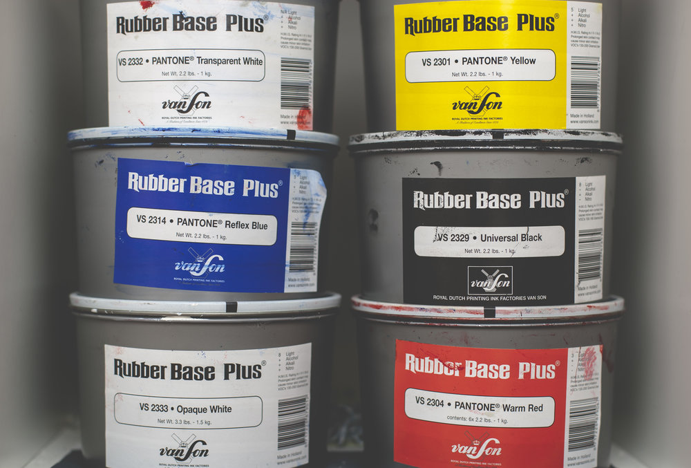 vanson rubber base letterpress ink
