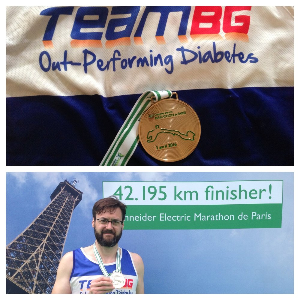 Paris Marathon, April 2016