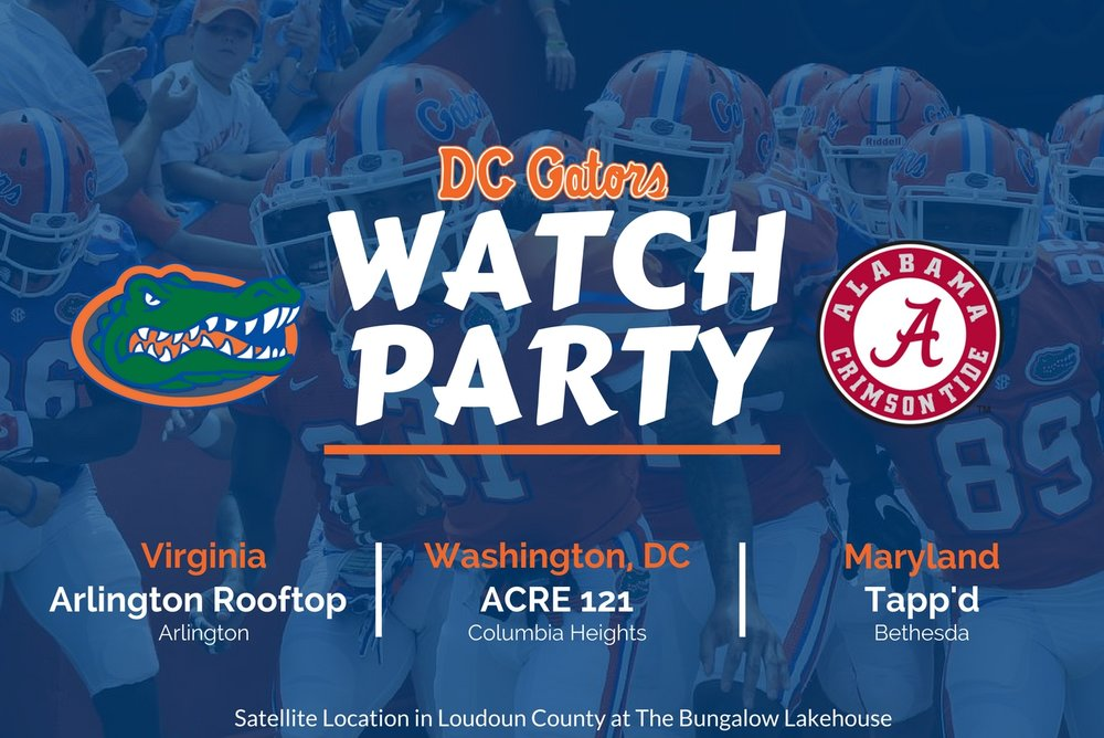 Uf Calendar Of Events.Upcoming Events Dc Gator Club