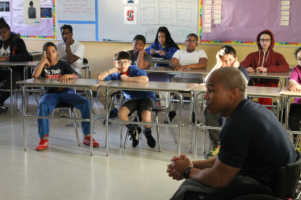 Last year, wrestlers were inspired by the story of Rohan Murphy, a nationally recognized youth motivational speaker and former wrestler born who succeeded despite having both legs amputated at age four