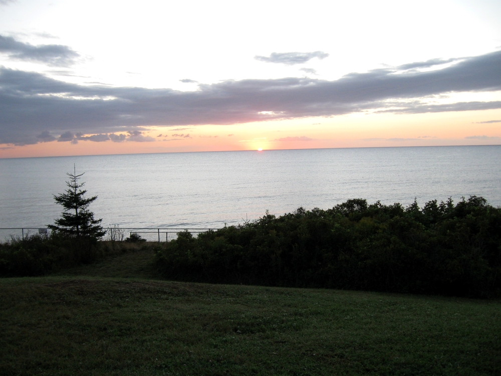 Day Break at Broadcove Beach Campground