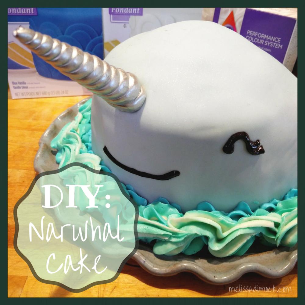 Diy Narwhal Cake Refashionista