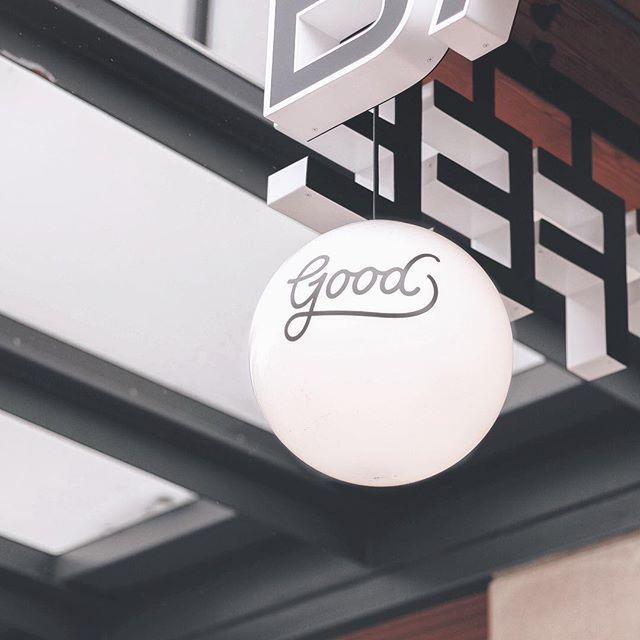Just stumbled across the prettiest logotype design @goodcoffeepdx ☕️ #designinspiration #logodesign