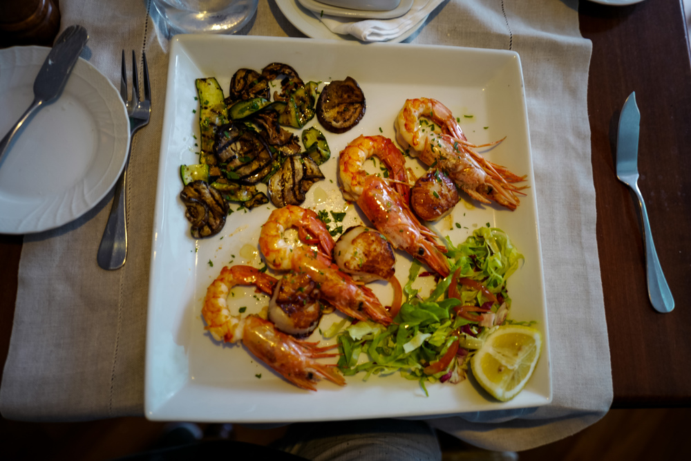 Fantastic Prawns and Scallops