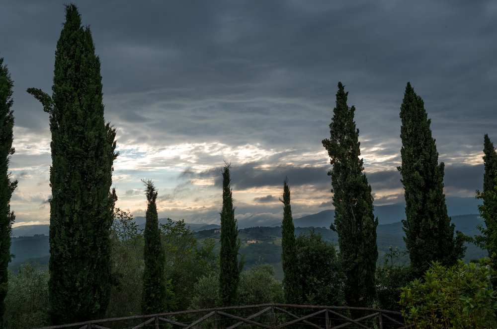 Early morning in Chianti