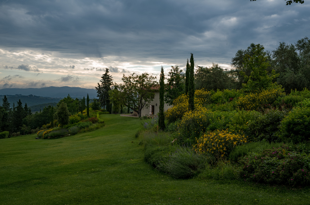 Villa Licia in early morning