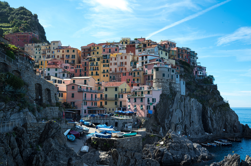 Morning shot in Manarola