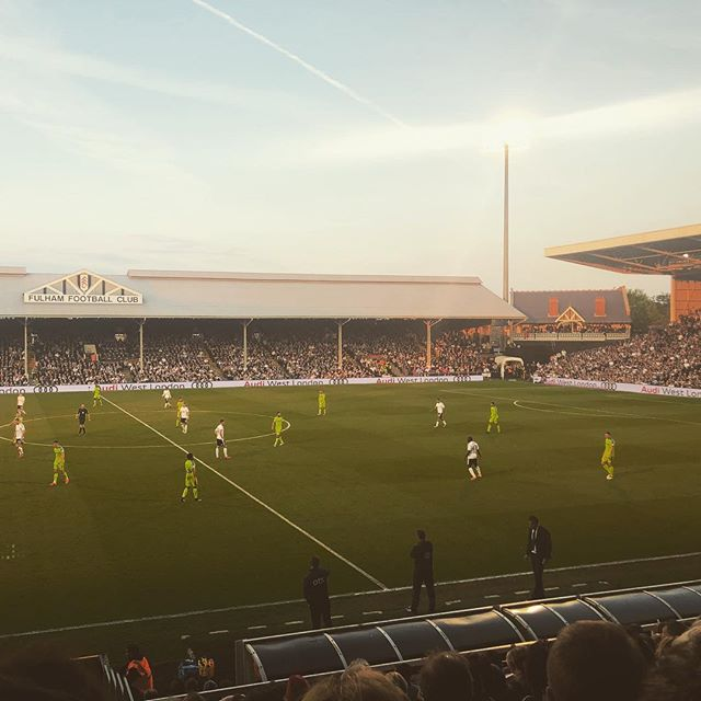 A beautiful night to shit myself with nerves watching @dcfcofficial in the Championship Playoff second leg. #efl #playoffs