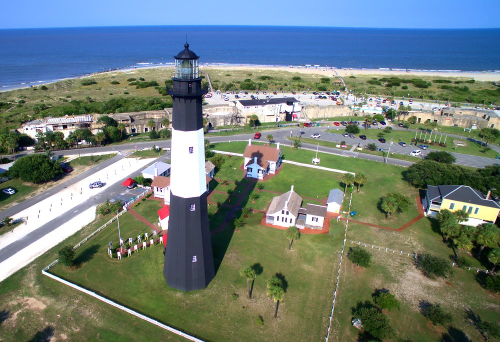 A Beautiful Sight - Check out a unique view of the Tybee Island Lighthouse