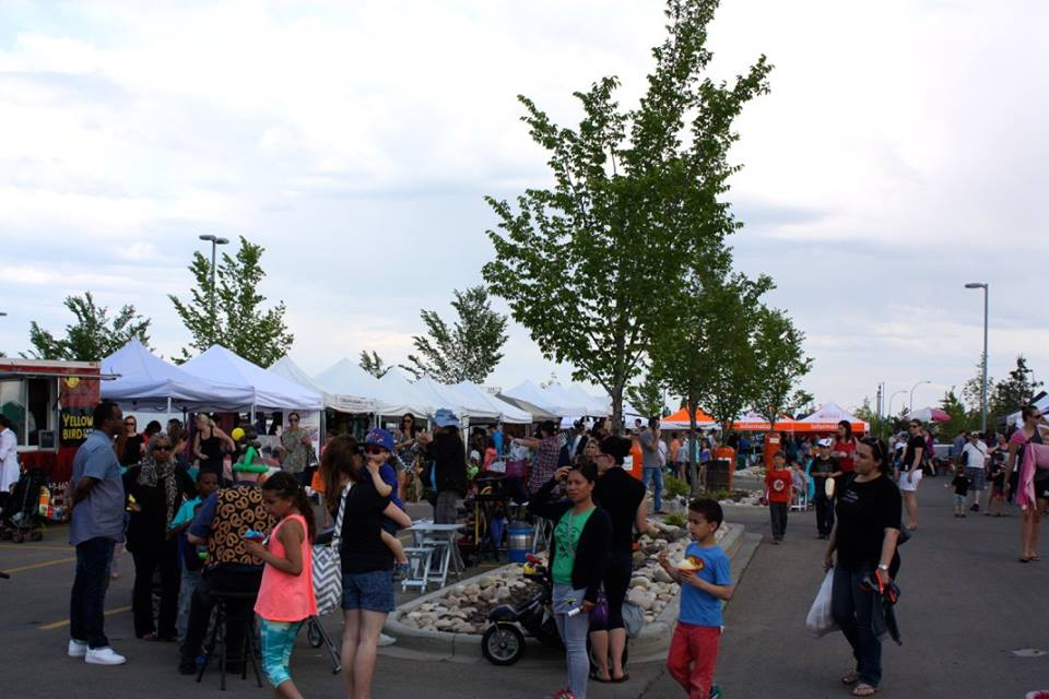 The grand opening May 18 was a little cloudy but that didn't stop the multitude of people visiting their favourite farmers' market!