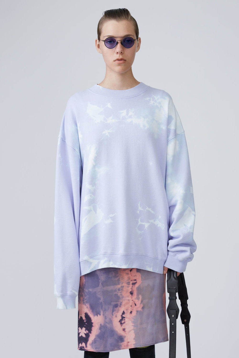 Acne Purple Bleach Sweater
