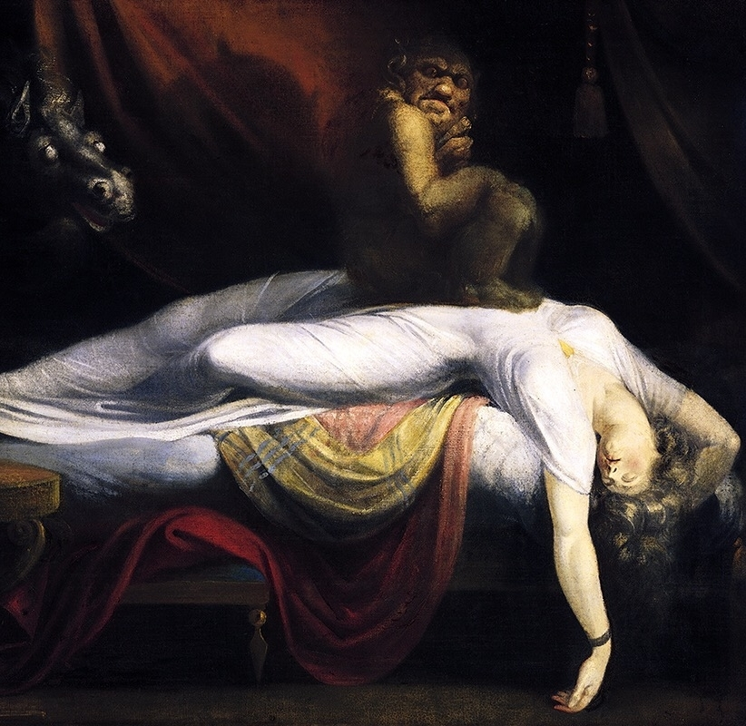 Henry Fuseli  The Nightmare, 1781