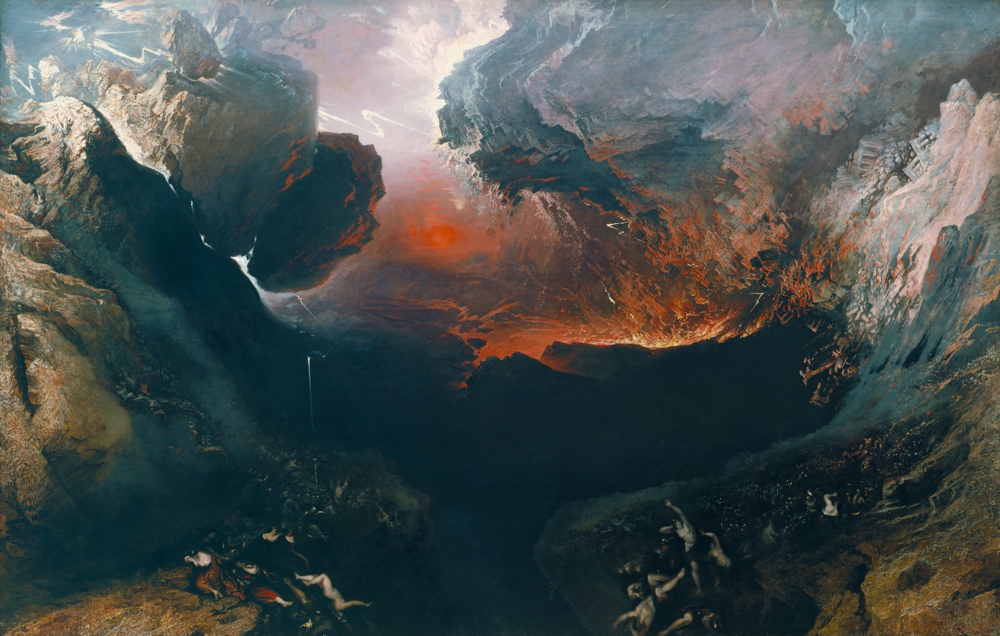 John Martin  The Great Day of His Wrath, 1851-3