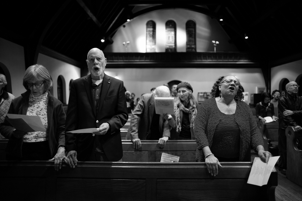 Lou Schreiber, Emmanuel Episcopal Church, 2015.   ©    Lynn Johnson
